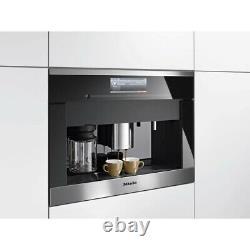 Miele CVA 6805 CVA6805 Built In Coffee Machine Option To Be Plumbed Or Use Tank