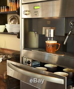Miele CVA615 Built In Coffee Machine Plus Warming Drawer And Accessories