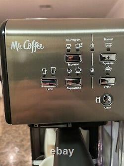 Mr. Coffee BVMC-EM7000DS 19 Bar Programmable Espresso Maker Machine Black
