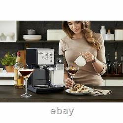 Mr. Coffee One-Touch CoffeeHouse Espresso and Cappuccino Machine, BVMC-EM6701SS