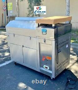 NEW 50 Lbs Outdoor Coffee Roaster Nuts Bean Roasting Machine Commercial NAT LP