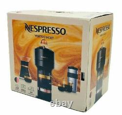 NEW Nespresso Breville Vertuo Next Premium Coffee Maker & Espresso Machine Black