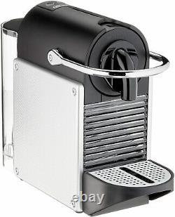 Nespresso Pixie Coffee Machine, Colour Aluminium Black