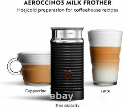 Nespresso Vertuo Coffee & Espresso Machine + Aeroccino3 Milk Frother ENV135GYAE