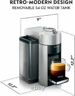 Nespresso Vertuo Coffee & Espresso Machine + Aeroccino3 Milk Frother ENV135SAE