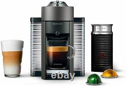 Nespresso Vertuo Coffee & Espresso Machine + Aeroccino3 Milk Frother ENV135TAE