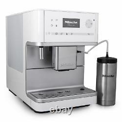 New Miele CM6350 OneTouch Benchtop Countertop Espresso Coffee Machine White