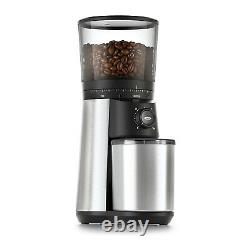 OXO 8717000 BREW One Touch Stainless Steel Conical Burr Coffee Grinder Machine