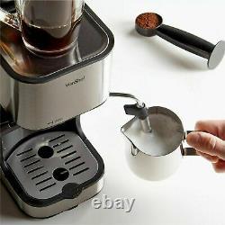 Professional Barista Style Espresso Latte Cappuccino Bar Coffee Maker Machine