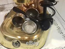 RARE La Pavoni Professional Premillenium Brass PRG coffee lever espresso machine
