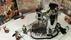 RARE La Pavoni Professional Premillenium Chrome coffee lever espresso machine