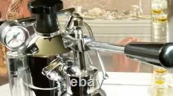 RARE La Pavoni Professional Premillenium PLH wood coffee lever espresso machine