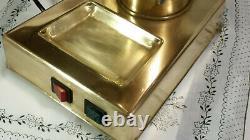 RARE VINTAGE Zacconi Riviera BRASS SPRING lever espresso machine coffee italy