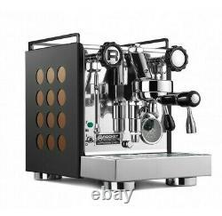 Rocket Espresso Appartamento Copper Black Machine Coffee Maker