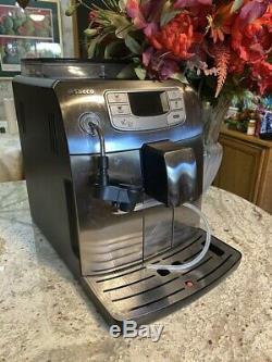 Saeco Intelia cappuccino, coffee & espresso Machine Lightly Used Retail $1,299