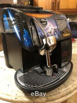 Saeco Magic De Luxe Hand Painted Espresso, Cappuccino and Coffee Machine