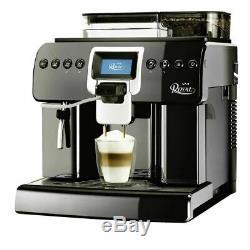 Saeco Royal One Touch Cappuccino automatic Espresso Coffee machine in black