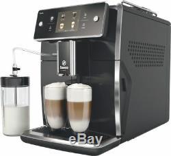 Saeco SM7680/00 XELSIS coffee espresso super automatic machine black