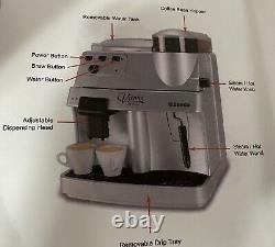 Saeco Vienna Deluxe SV Argento Espresso, Coffee & Cappuccino Machine NEW