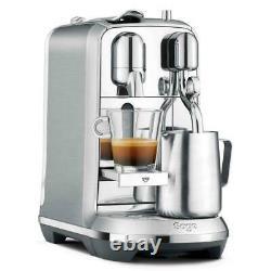 Sage Nespresso Creatista Plus BNE800BSS Coffee Machine Brushed Stainless Steel