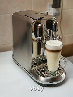 Sage Nespresso Creatista Plus Coffee Machine Brushed Stainless Steel