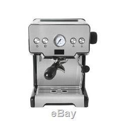 Semi-Automatic Espresso Cappuccino Coffee Machine 15bar 58mm Porta-filter Holder