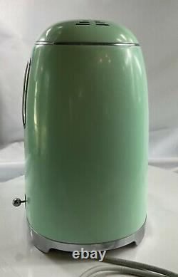 Smeg 1950's Retro Style 10 Cup Programmable Coffee Maker Machine (Pastel Green)