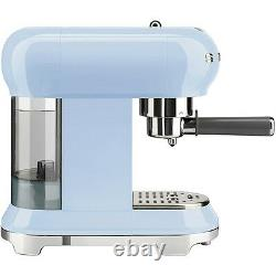 Smeg ECF01PBUK Pastel Blue Coffee Machine + 2 Year Warranty (Brand New)