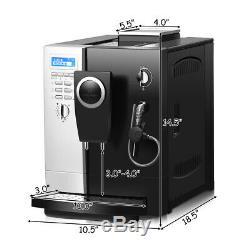 Super-Automatic Espresso Machine Cappuccino Coffee Maker 19 Bar with Milk