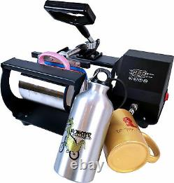 Tumbler Heat Press Transfer Sublimation Machine Digital for Cup Coffee Mug Gifts