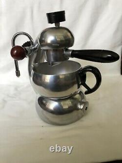 Vintage ATOMIC Coffee Cappuccino Maker Machine BREVETTI ROBBIATI Milano 40s Rare