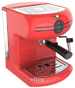 Vintage Traditional Pump Espresso Coffee Machine Manual Not Delonghi Red