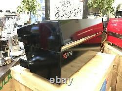 Wega Atlas Evd Black 3 Group Espresso Coffee Machine Commercial Cafe Office