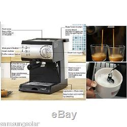 Wiswell Electric SemiAutomatic Espresso Machine Coffee Maker Latte Cappuccino